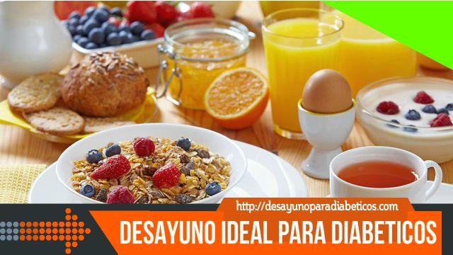 Desayuno ideal para diabeticos
