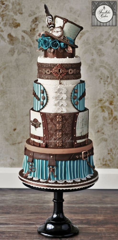 395 Best Fashionable Cakes Images On Pinterest Cake