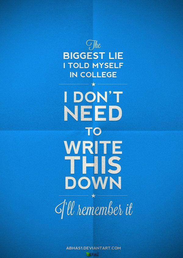 College advice;)