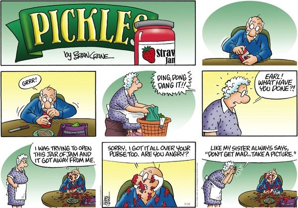 Pickle comic strip