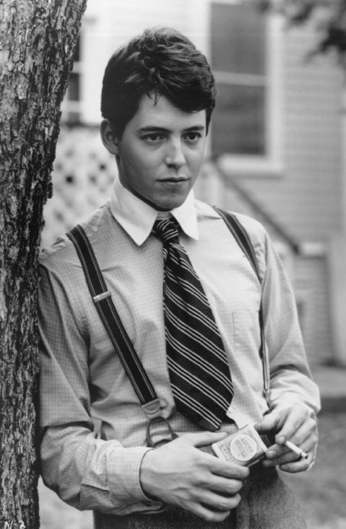 I love the young matthew broderick. i dont know why. lol (i think its cuz he kind of reminds me of Geoff! hehe)