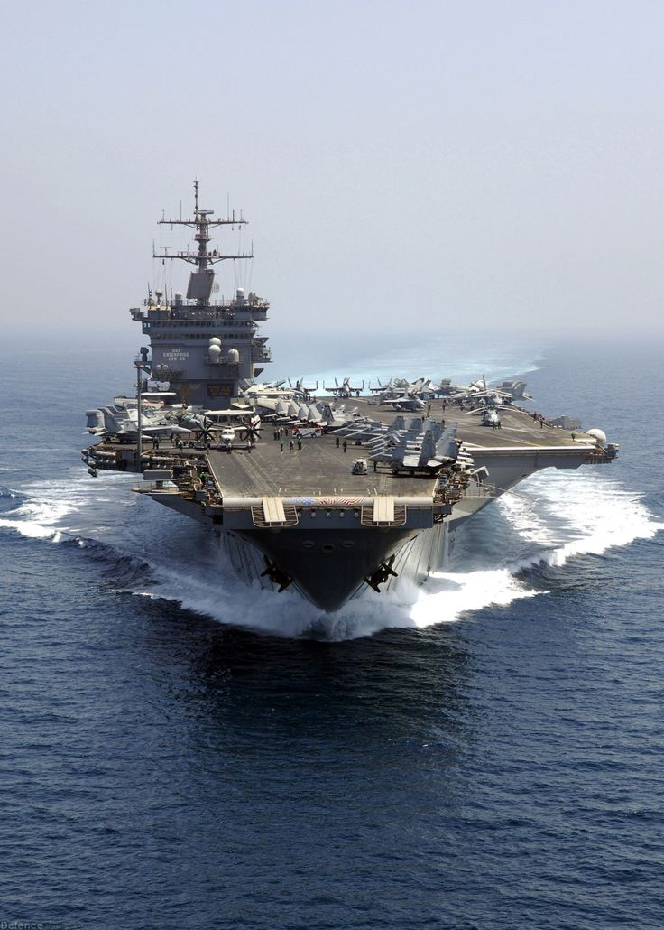 USS Enterprise, world's first nuclear powered aircraft carrier