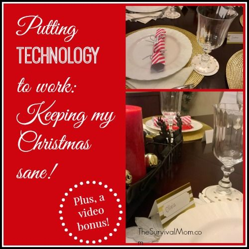 Putting technology to work: Keeping my Christmas sane! I used the Cortana app to organize my entire month of December. | via www.TheSurvivalMom.com