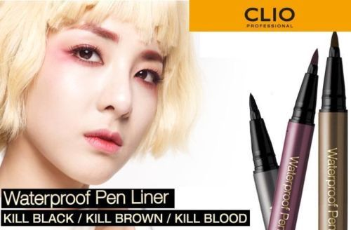 CLIO Waterproof Pen Liner Kill Black/Kill Brown/Kill Blood