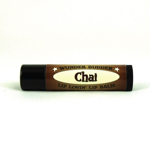 Chai natural lip balm in a beeswax base, with calendula and essential oils.