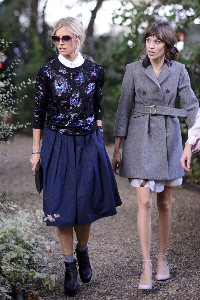 How To Dress For London Fashion Week Pinterest