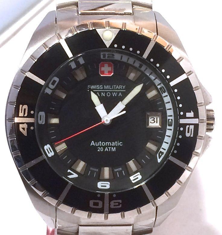 Swiss Military Hanowa Sealander Automatic Diver Watch.