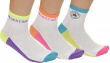 Convese neonové klasické ponožky 3 Pack