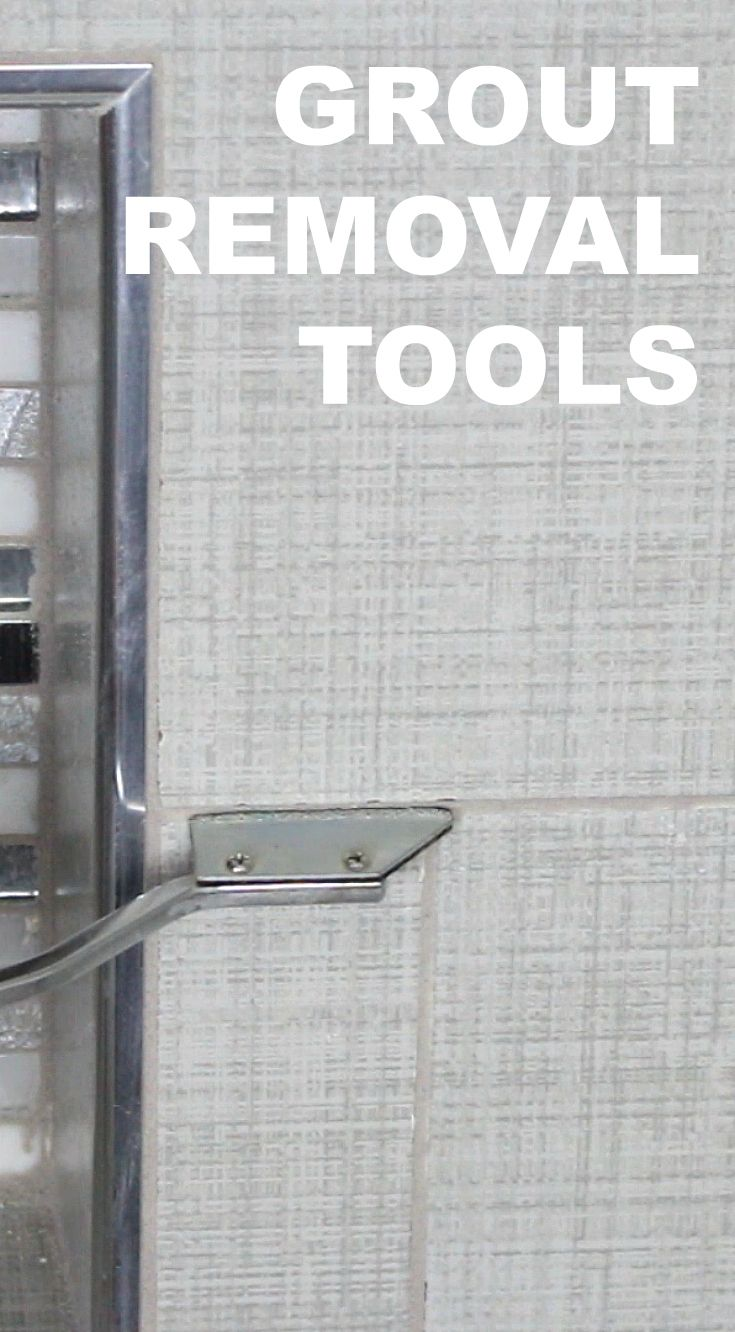Grout removal tool tips for anyone looking to remove a small or BIG area of grout...https://www.homerepairtutor.com/grout-removal-tool-selection/