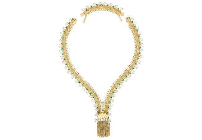 Transformable zip bracelet, 1955