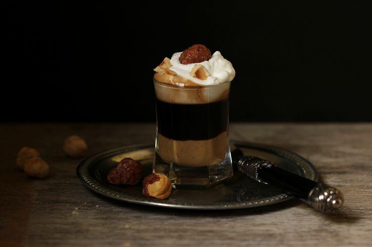 Caffè alla nocciola con pura pasta di nocciole