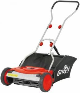 The Grizzly HRM38 hand propelled, cylinder lawn mower. Great exercise! Stylish, functional, reliable, with a 3 year guarantee, the HRM38 hand propelled, cylinder lawn mower is part of the Grizzly range of high quality, German engineered, garden tools. It has a robust metal housing and a ball bearing mounted, blade cylinder, precision milled in special steel to keep it maintenancefree.