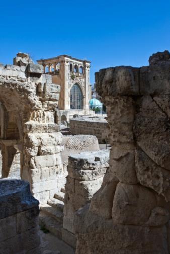 #cibarti2013: il Sedile visto dalle antiche rovine dell'anfiteatro romano a #Lecce, uno scorcio bellissimo che i visitatori dell'Expo potranno vedere dal vivo.