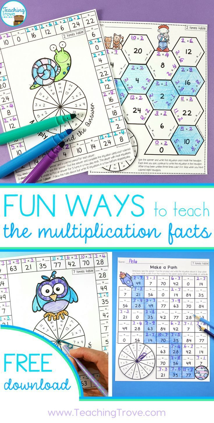 131 best Multiplication and Division images on Pinterest | Learning ...