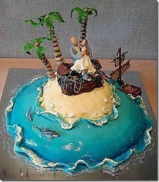 7 pasteles de bodas extravagantes   La #3 es increible