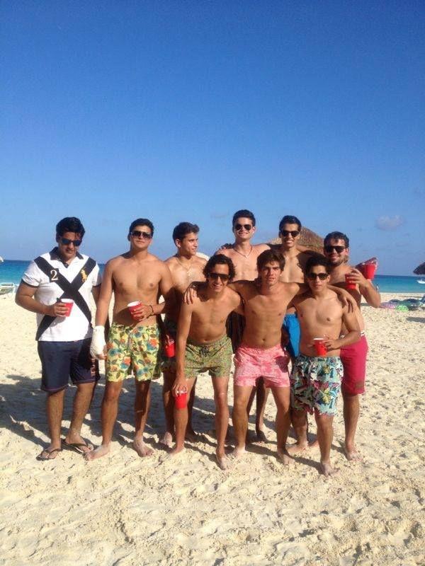 Regresar a Cancun con mis amigos