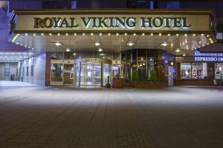 Lobby & Eingang - Hotel Radisson Blu Royal Viking