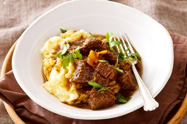 Rich, flavoursome casseroles like this port and orange braised beef are perfect for when the nights get colder.