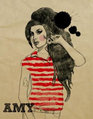 Amy Winehouse by Magdalena Pankiewicz