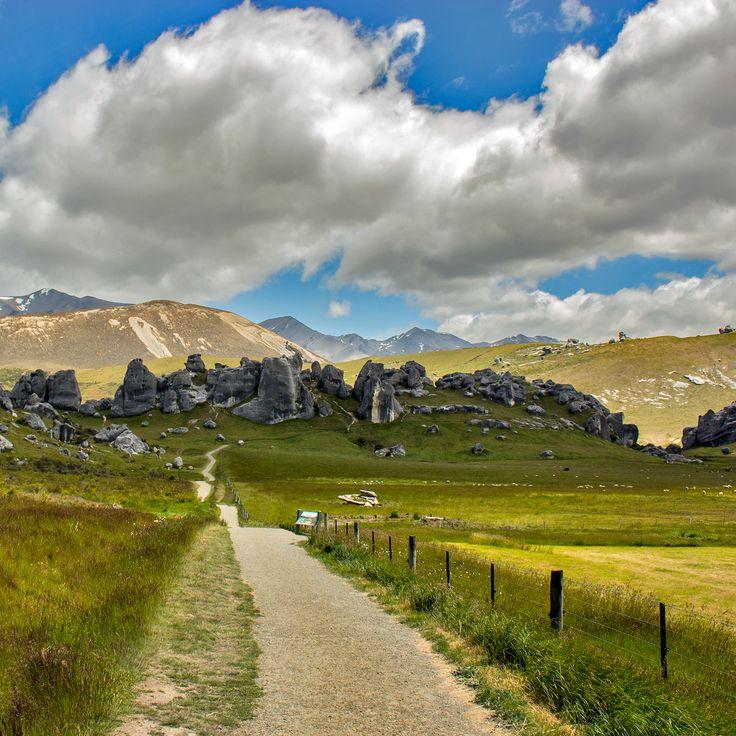 Castle Rock Hills & Centre of the spiritual universe
