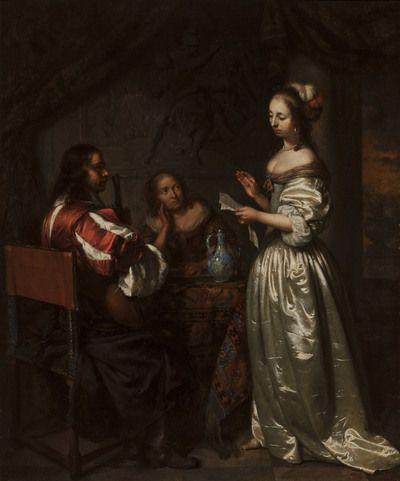 Company Making Music | 1665 | Mauritshuis | Public Domain Marked