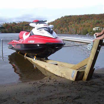 Kit de Rampe Multinautic® R-1200 pour Petite Embarcation ou Motomarine 544.3 kg (1,200 lb.) capacité