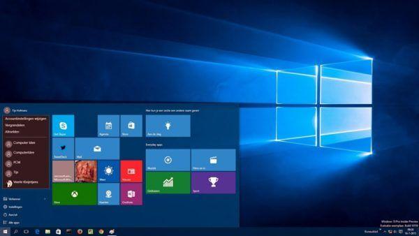 الفرق بين نسخ ويندوز 10 بالمميزات والعيوب موسوعة طيوف Windows 10 Desktop Screenshot Windows