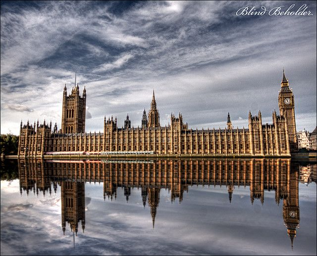 House of Parliament, London, England. Very beautiful.