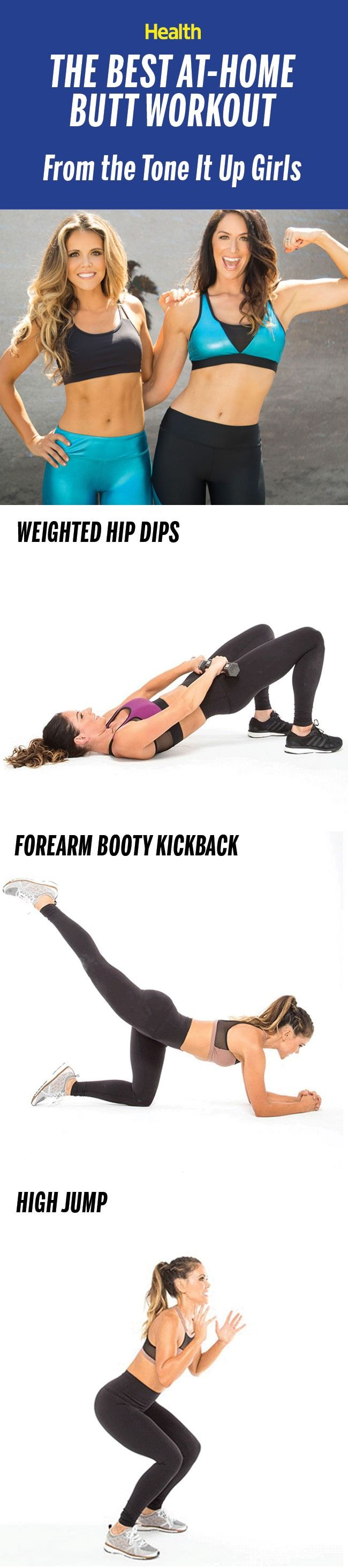 This is the butt-sculpting workout the Tone It Up girls swear by. | Health.com