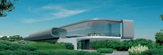 Дом будущего (5 фото)