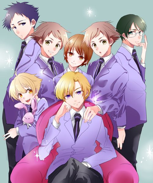 i have recenty started watching the anime Ouran High School Host Club AND IM IN LOVE
