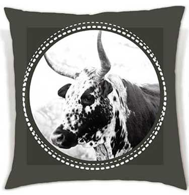 These soft, eye-catching cushions bring the beauty of the Nguni cattle to your living space. | R210 - R250
