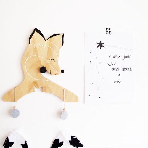 Fox- Animal Hanger