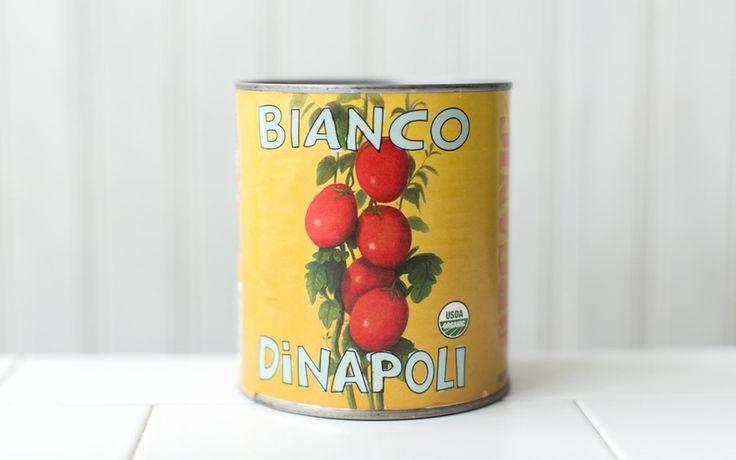 Bianco Di Napoli Organic Whole Peeled Tomatoes with Basil
