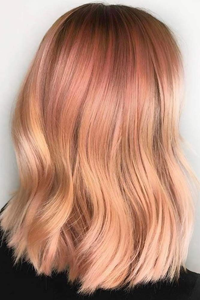 Hair Color 2017/ 2018 A strawberry blonde hair shade is often chosen by women because it makes them ap