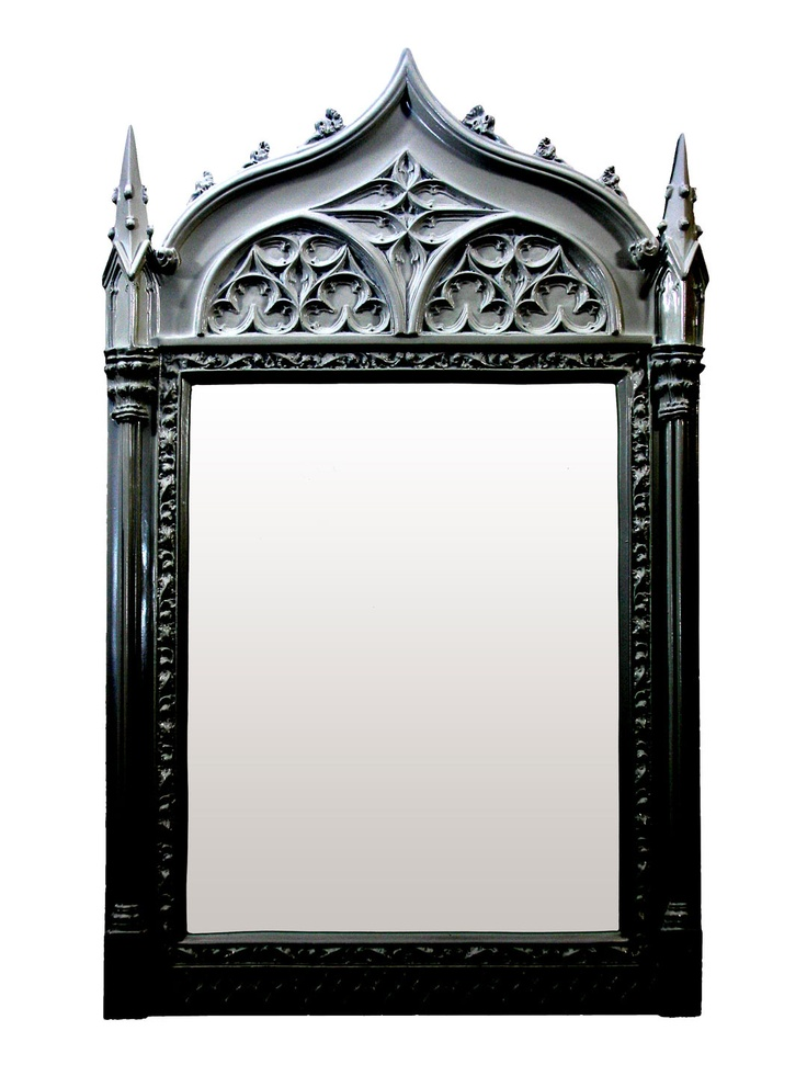 Like this mirror, could turn into a chalkboard