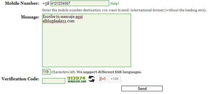 Mensajes gratis a digitel movistar y movilnet