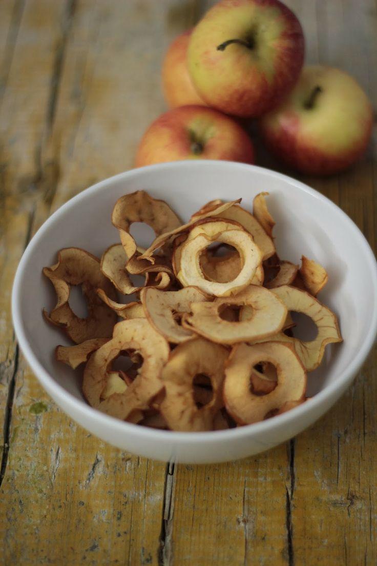 As Minhas Receitas: Chips de Maçã