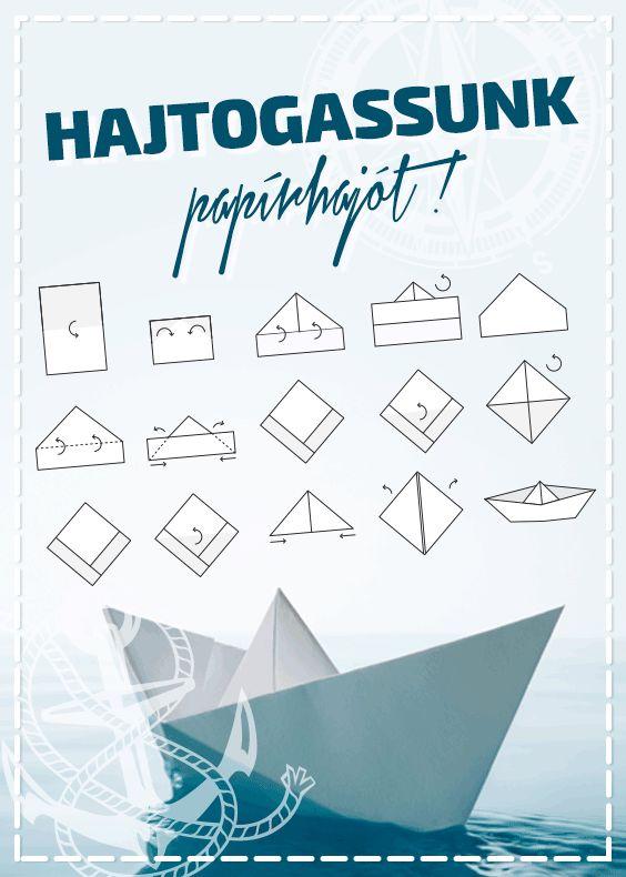 Ha már nem emlékszel, hogy kell, csak kövesd a lépéseket! Jó hajókázást! #tescomagyarorszag #papirhajo #hajtogatas #csalad #kezmuves #diy #jatek
