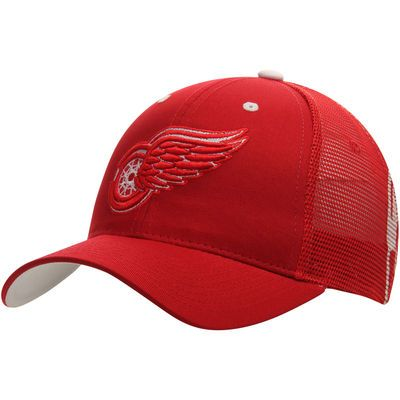 Detroit Red Wings Zephyr Screenplay Trucker Adjustable Hat - Red