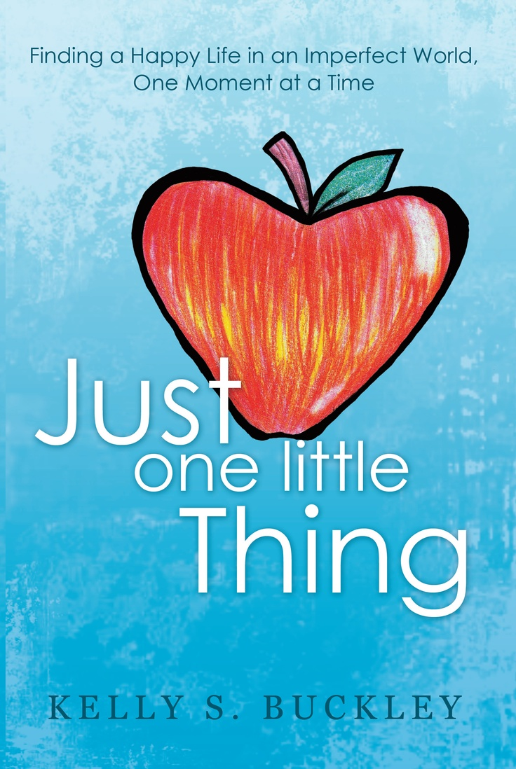 "A phenomenal book called ""Just One Little Thing."" It's about one of those life changing groundless moments. Devastated by the unexpected death of her son, the author writes about what goodness still remained in her life in the hopes of finding just one little thing to make it through the day. Gratitude changed everything."