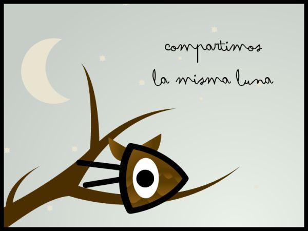 Gr fica ollo de pez by ollodepez 105 art ideas to for Mural la misma luna