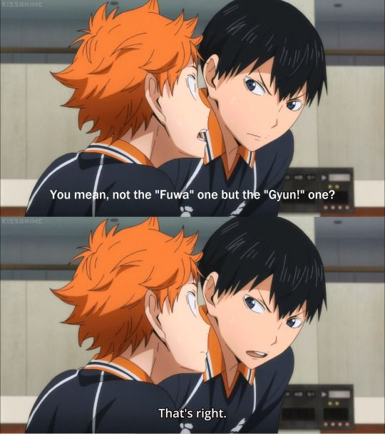 """I still wonder  what """"Fuwa"""", or """"Gyun"""" and the other thing Hinata says! give me me a Hinata Dictionary XD"""