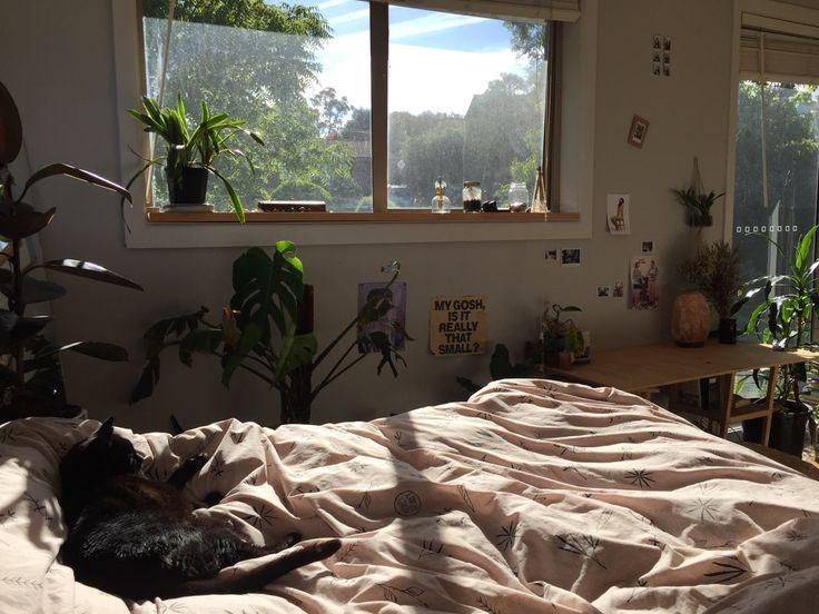 Aesthetic Bedrooms Tumblr Plant