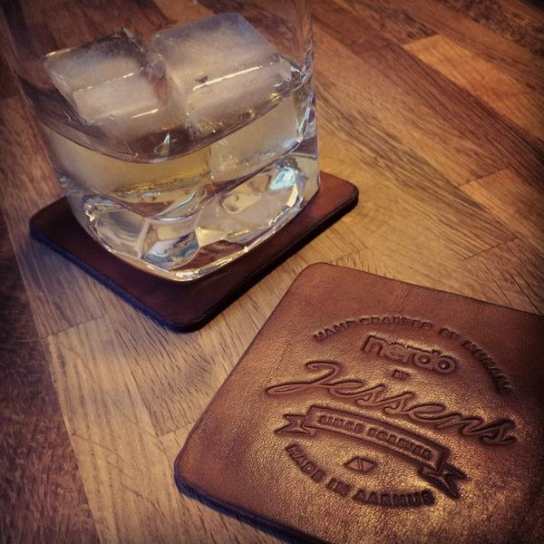 A good glass whiskey on our coasters