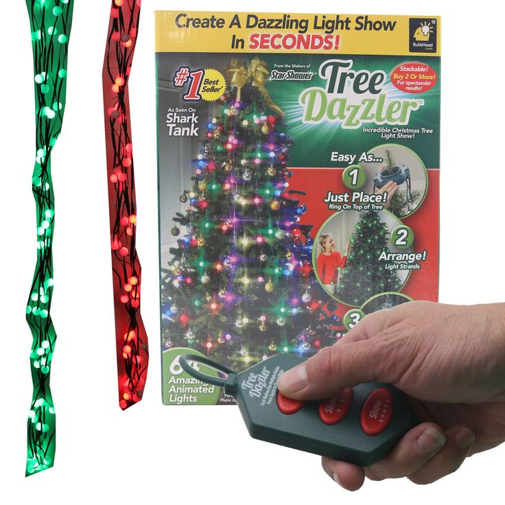 Star Shower Tree Dazzler 16 Pattern LED Light Show by BulbHead #Generic