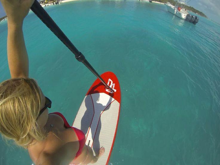 Honeymoon / paddle board / exuma Bahamas / Caribbean / exotic