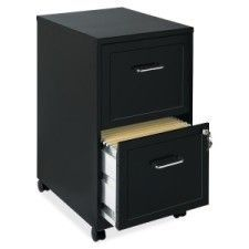 "Soho 18"" 2-Drawer Mobile File Cabinet"