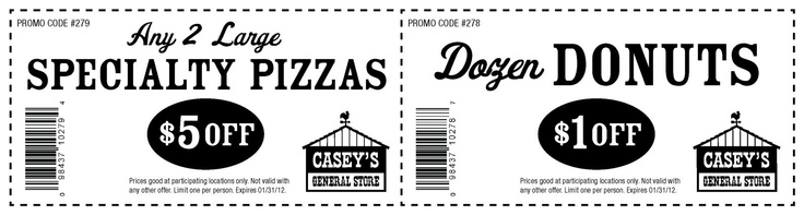 Casey's pizza coupon code