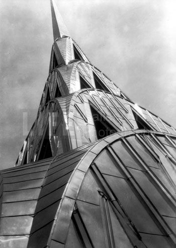 Margaret Bourke-White, Chrysler Building, 1931 ~ Still /the/ coolest building
